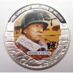 5 dollars 2011 PP - The greatest warlords of history - George S. Patton