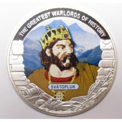 5 dollars 2009 PP - The greatest warlords of history - Svatopluk