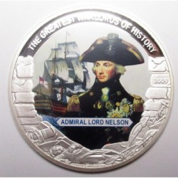 5 dollars 2009 PP - The greatest warlords of history - Admiral Lord Nelson