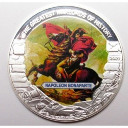 5 dollars 2009 PP - The greatest warlords of history - Napoleon Bonaparte