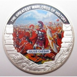 5 dollars 2009 PP - The greatest warlords of history - Julius Caesar