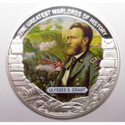 5 dollars 2010 PP - The greatest warlords of history - Ulysses S. Grant