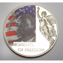 10 dollars 2006 PP - Moments of freedom - Martin Luther King -...