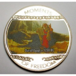 10 dollars 2004 PP - Moments of freedom - Out of Egypt - 1250 BC