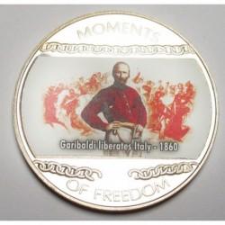10 dollars 2004 PP - Moments of freedom - Garibaldi liberates Italy - 1860