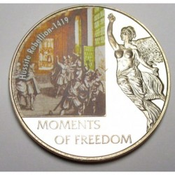 10 dollars 2006 PP - Moments of freedom - Hussite Rebellion - 1419
