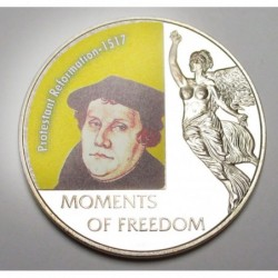 10 dollars 2006 PP - Moments of freedom - Protestant Reformation - 1517