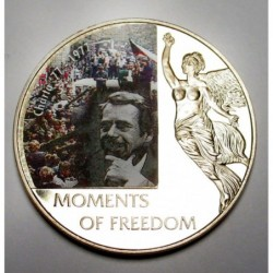 10 dollars 2006 PP - Moments of freedom - Charta '77 - 1977