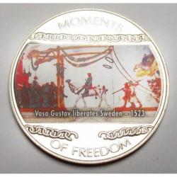 10 dollars 2004 PP - Moments of freedom - Vasa Gustav liberates Sweden - 1523