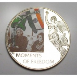 10 dollars 2006 PP - Moments of freedom - Simla Pact - India and Pakistan - 1972