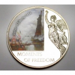 10 dollars 2006 PP - Moments of freedom - Statutue of Liberty - 1886