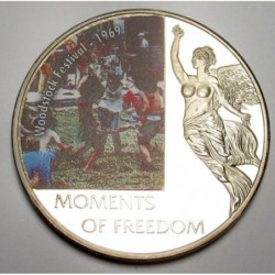 10 dollars 2006 PP - Moments of freedom - Woodstock Festival - 1969