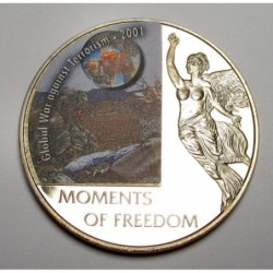 10 dollars 2006 PP - Moments of freedom - Global War against Terrorism - 2001