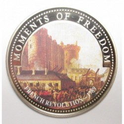 10 dollars 2001 PP - Moments of freedom - French revolution - 1789