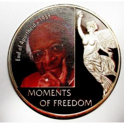 10 dollars 2006 PP - Moments of freedom - End of Apartheid - 1989