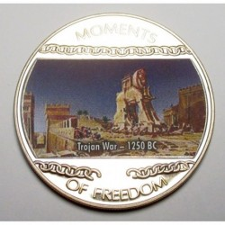 10 dollars 2004 PP - Moments of freedom - Trojan War - 1250 BC