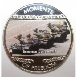 10 dollars 2004 PP - Moments of freedom - Tienanmen square - 1989