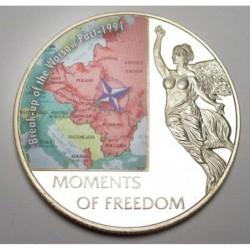 10 dollars 2006 PP - A szabadság pillanatai - A varsói szerződés megszűnése - 1991