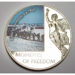 10 dollars 2006 PP - Moments of freedom - Battle of Normandy -6.6.1944