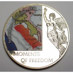 10 dollars 2006 PP - Moments of freedom - Independence of Indochina - 1954