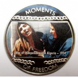 10 dollars 2004 PP - Moments of freedom - War of Independence in Algeria - 1954