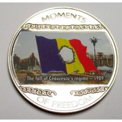 10 dollars 2004 PP - Moments of freedom - The fall of Ceaucescu's régime - 1989