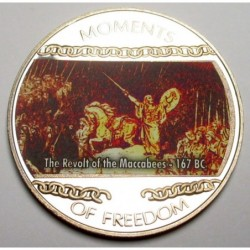 10 dollars 2004 PP - Moments of freedom - The Revolt of the Maccabees - 167 BC