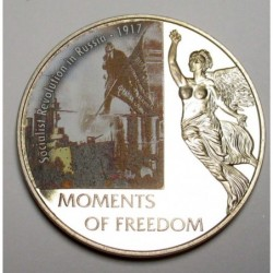 10 dollars 2006 PP - Moments of freedom - Socialist Revolution in Russia - 1917