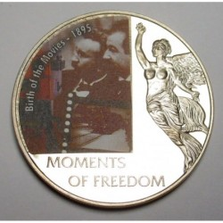 10 dollars 2006 PP - Moments of freedom - Birth of the Movies - 1895
