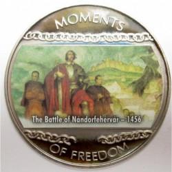 10 dollars 2004 PP - Moments of freedom - The Battle of Nándorfehérvár - 1456