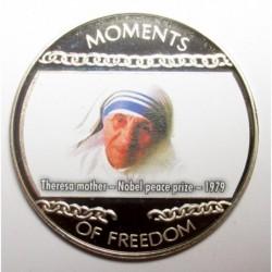 10 dollars 2004 PP - A szabadság pillanatai - Teréz anya nobeldíjat kap - 1979