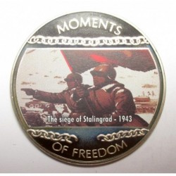 10 dollars 2004 PP - Moments of freedom - The siege of Stalingrad - 1943