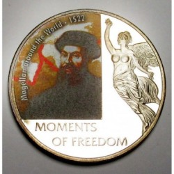 10 dollars 2006 PP - Moments of freedom - Magellan around the World - 1522