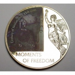 10 dollars 2006 PP - Moments of freedom - Century of Inventions - XXth century