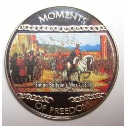 10 dollars 2004 PP - Moments of freedom - Simon Bolivar's War - 1819
