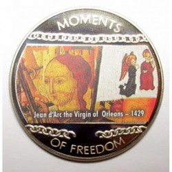 10 dollars 2004 PP - Moments of freedom - Jean d'Arc the Virgin of Orleans - 1429