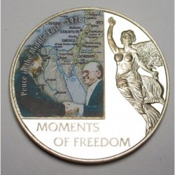 10 dollars 2006 PP - Moments of freedom - Peace in the Middle...