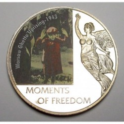 10 dollars 2006 PP - Moments of freedom - Warsaw Ghetto Uprising - 1943
