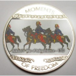10 dollars 2004 PP - Moments of freedom - Rakoczi's War of Independence - 1703
