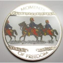 10 dollars 2004 PP - Momente der Freiheit - Aufstand von Franz II. Rákóczi - 1703