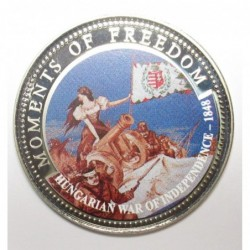 10 dollars 2001 PP - Moments of freedom - Hungarian War of Independence - 1848
