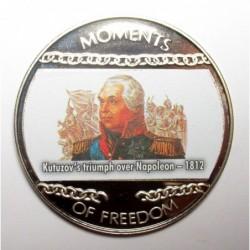 10 dollars 2004 PP - Moments of freedom - Kutuzov's triumph over Napoleon - 1812