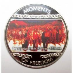 10 dollars 2004 PP - A szabadság pillanatai - A jobbágyfelszabadítás Európában - XIX. Század