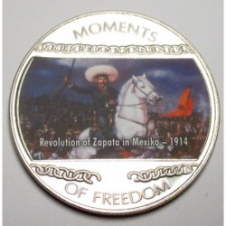 10 dollars 2004 PP - Moments of freedom - Revolution of Zepata in Mexiko - 1914
