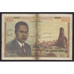 100 francs 1962