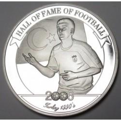 2000 shillings 2006 PP - Hall of fame of football - Hakan Sükür