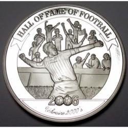 2000 shillings 2006 PP - Hall of fame of football - Andriy Shevchenko