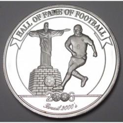 2000 shillings 2006 PP - Hall of fame of football - Roberto Carlos