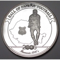 2000 shillings 2006 PP - Hall of fame of football - Gheorghe Hagi