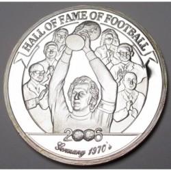 2000 shillings 2006 PP - A futball legendái - Franz Beckenbauer